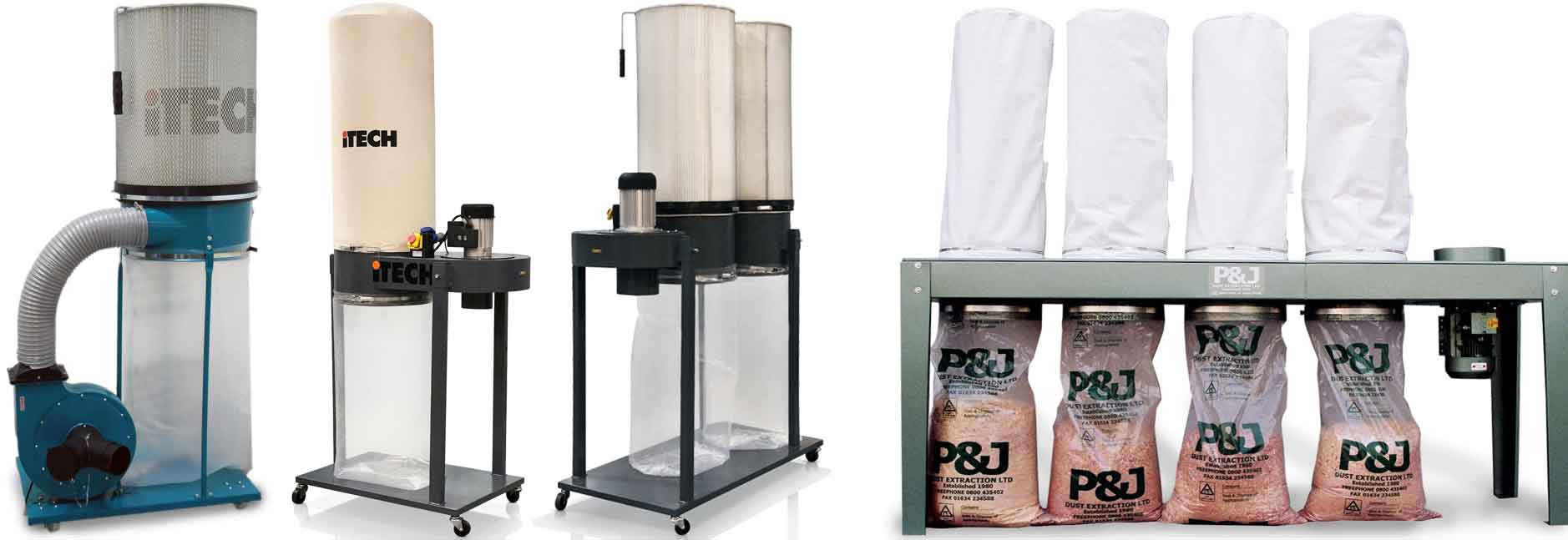 Bag Dust Extractor Systems