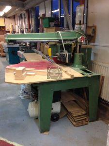 Used Wadkin BRA 350 Long Arm Crosscut Saw