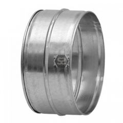 100mm Male Coupling for Joining Ducting with Seal