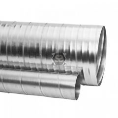 3m Length of Straight Spiral Ducting D=80-400mm