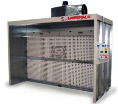 Ardesia Silver Dry Filter Spray Booth 4m