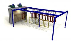 Ardesia Velox Spray Conveyor A=4m B=10m C=40
