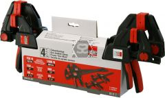 Bessey EZM-EZL-SET of 4 Trigger Clamp Set