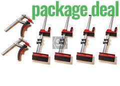 Bessey KRE 125 Quad Pack + 2 KLI120