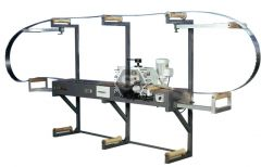 Wide Band Saw blade tensioning & Rolling machine