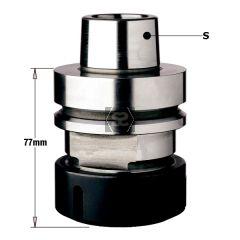 CMT 183 CNC Router Tool holder HSK 63F LH for ER40