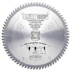 CMT 222 Sawblade D=250 z=80 d=30