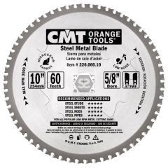 CMT 226 Saw Blade for Stainless Steel Hw254x2.2/1.