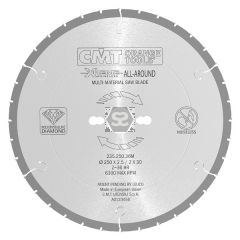 CMT 235 PCD Silent Saw Blade D=216x2.5 d=30 Z=30
