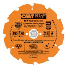 CMT 236 Saw Blade For Fiber Cement Dp 125x2.0/1.4x