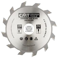 CMT 240 Grooving sawblade D=150 d=30 B=3 z=12