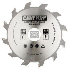 CMT 240 Grooving sawblade D=150 d=30 B=5 z=12