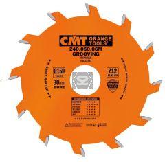 CMT 240 Grooving sawblade D=150 d=30 B=6 z=12
