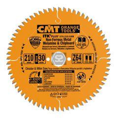 CMT 276 Saw Blade for Aluminium D=250x2.6/1.8x30