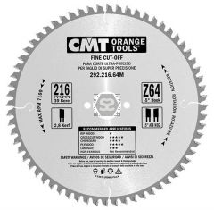 CMT 292 Fine sawblade D=125 B=2.4 d=20 z=36