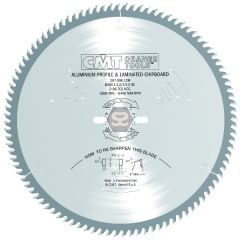 CMT 297 Sawblade TCG D=450x3.8/3.2x30 Z=108