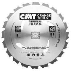 CMT 298 Sawblade Garden Trimmer D=250 d=25.4 z=20