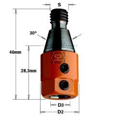 CMT 303 Drill Adaptors S=M10 D=8 LH