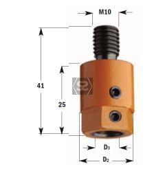 CMT 305 Drill Adaptors S=M10 D=10 RH