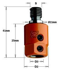 CMT 305 Drill Adaptors S=M10 D=10 LH