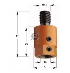 CMT 305 Drill Adaptors S=M10 D=8 LH