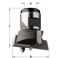 CMT 501 Modular Drill Head D=24X30 S=M12X1 LH