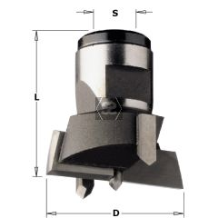 CMT 501 Modular Drill Head D=25X30 S=M12X1 LH