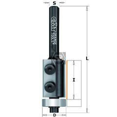CMT 657 Flush Trim Bit Z2 S=8 D=16x30 S=8 RH
