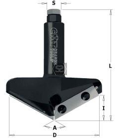 CMT 663 V-Groove CNC A=150° S=20 D=96.5 I=12.4 L95