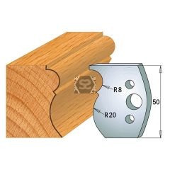 CMT Pr of Moulding Cutters KSS 50x4mm Profile 502