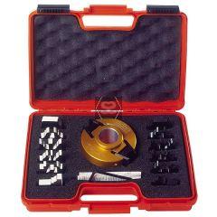 CMT 7 Pc Spindle Moulder Kitchen Cutter Set d=30