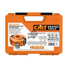 CMT 7-Pc Spindle Moulder Kitchen Cutter Set d=30