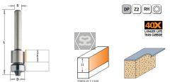 CMT 128 PCD Flush Trim Bit S=6 D=12.7X11