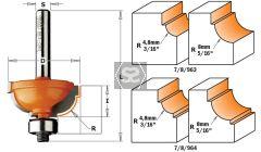 CMT 763 Cavetto Edge Mold Bit TCT S=6 D=25.4X11.5