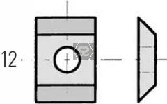 CMT 790.076.00 Blade 7.65x12x1.5 - Box of 10 pcs