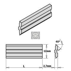 2-PIECE HPS Planer Blades for Centrofix L=520