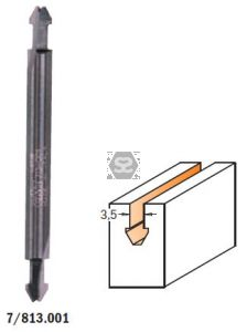 CMT 813 Replacement Tip Router HM S=6.35 D=3.5/5.5