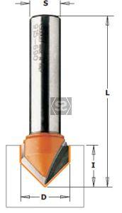 CMT 915 V-Grooving Bit 90 DEG S=12.7   D=38X19X7
