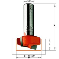 CMT 852 Dado Planer Router Bit S=1/2 D=1-1/2X5/8