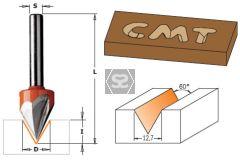 CMT 858 Laser Point Bit TCT S=6.35 D=12.7X11