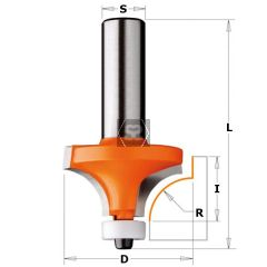 CMT 880 Solid Surface Roundover R=12.7 S=12.7