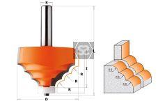 CMT 880 Solid Surface Decorative Edge S=12.7 R=8