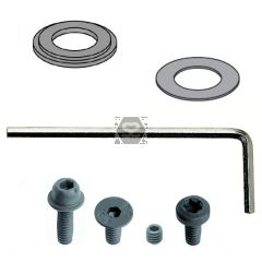 Kit With Bearings. Shields. Screws And Keys
