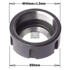 ER32 Clamping Nut  W/BEARING  M40X1.5  LH