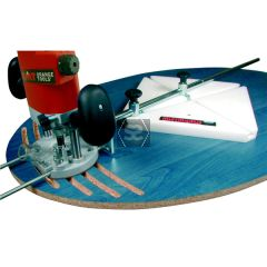 CMT 3000 Ellipse & Circle Cutting Jig for Routers