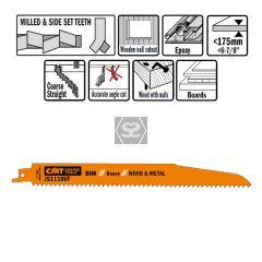 20 Sabre Saw Blades For Wood/metals (bim) 225x3.2-