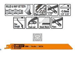 20 Sabre Saw Blades For Metals (bim) 225x1.8x14tpi