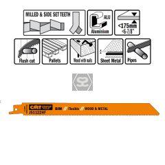 20 Sabre Saw Blades For Wood/metals (bim) 225x2.5x