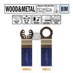 CMT OMM11 28mm Plunge & Flush-cut Wood & Metal