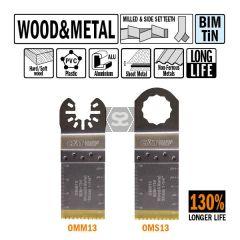 CMT OMM13 32mm XL Life Plunge & Flush Wood 5 Pack